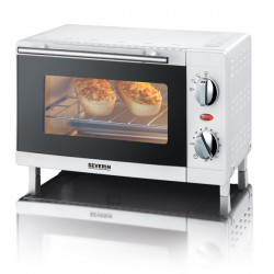 Cuptor electric Severin TO2054,800W,9l,grill,alb