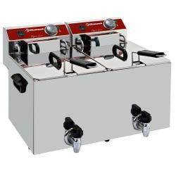 Friteuza eletrica Diamond EF102-TN 2x cuva 10 l