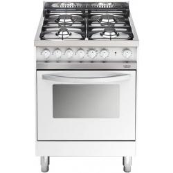 Aragaz Lofra Maxima MB66 MF, 60x60 cm, gaz, 4 arzatoare, grill electric, timer, aprindere electronica, alb