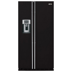 """Side by side IOMABE Luxury """"K"""" Series ORE24CGF8B, clasa A+, 572 l, No Frost, Negru"""