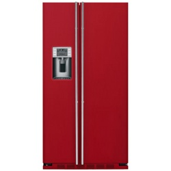 """Side by side IOMABE Luxury """"K"""" Series ORE24CGF8R, clasa A+, 572 l, No Frost, Rosu"""